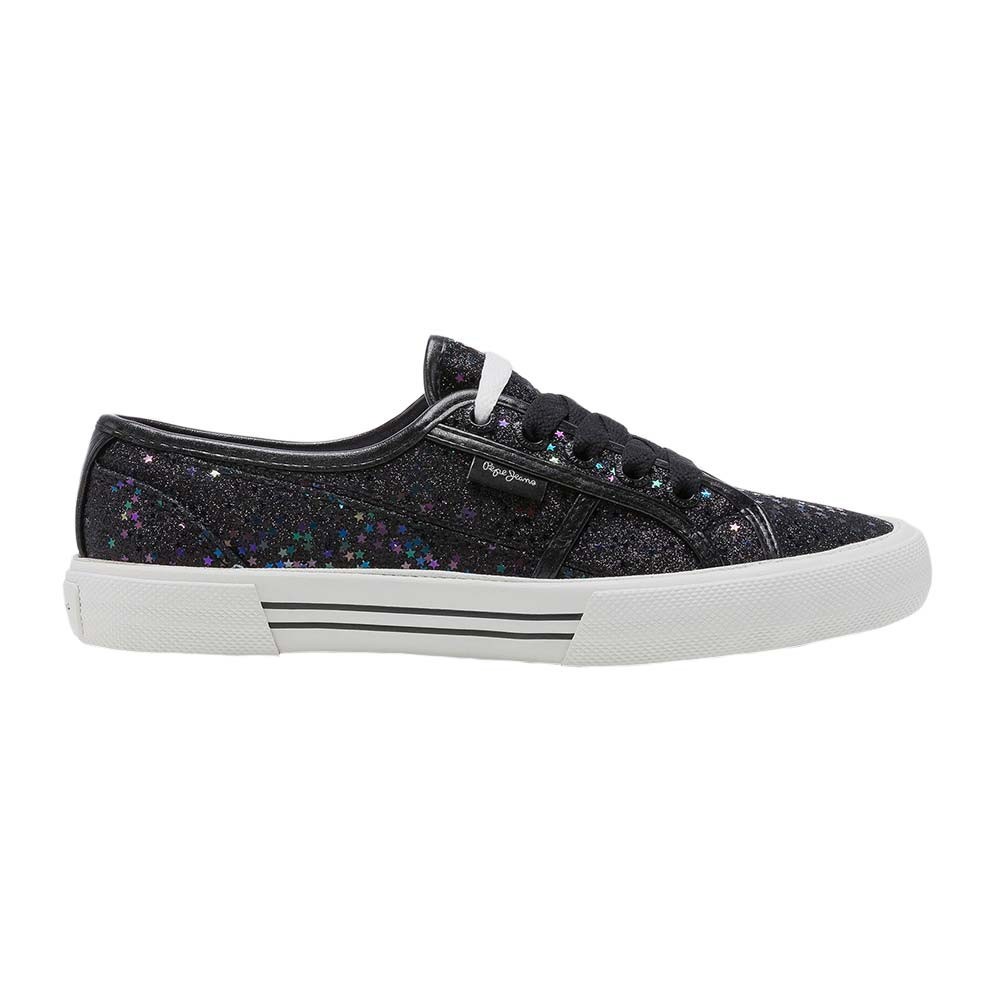 Femme Pas Jeans Chaussure Noir Aberlady Cher Pepe Stars 9WD2YEHI