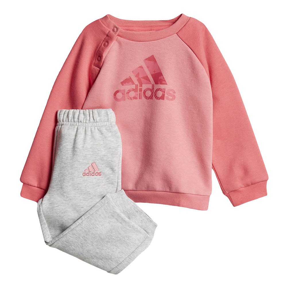 Adidas Logo Fleece Jogger Ensemble Survetement