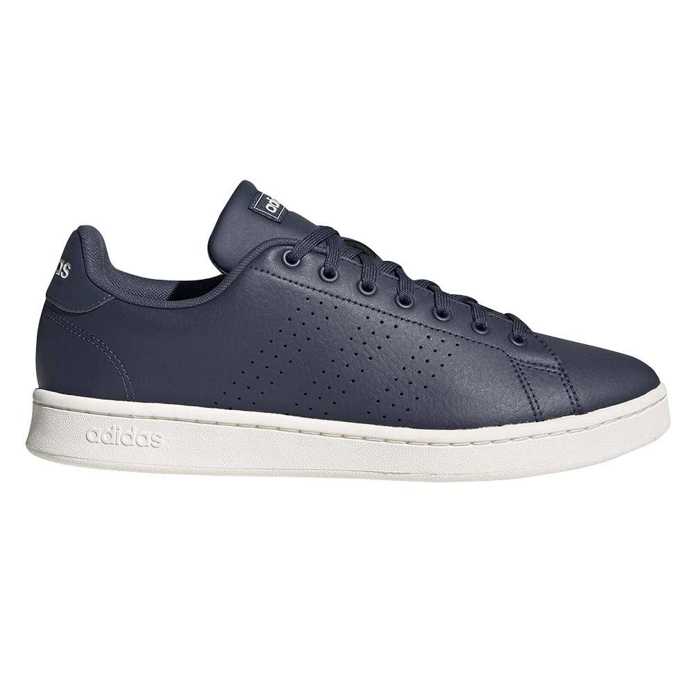 Advantage Chaussure Homme ADIDAS BLEU pas cher - Baskets basses ...