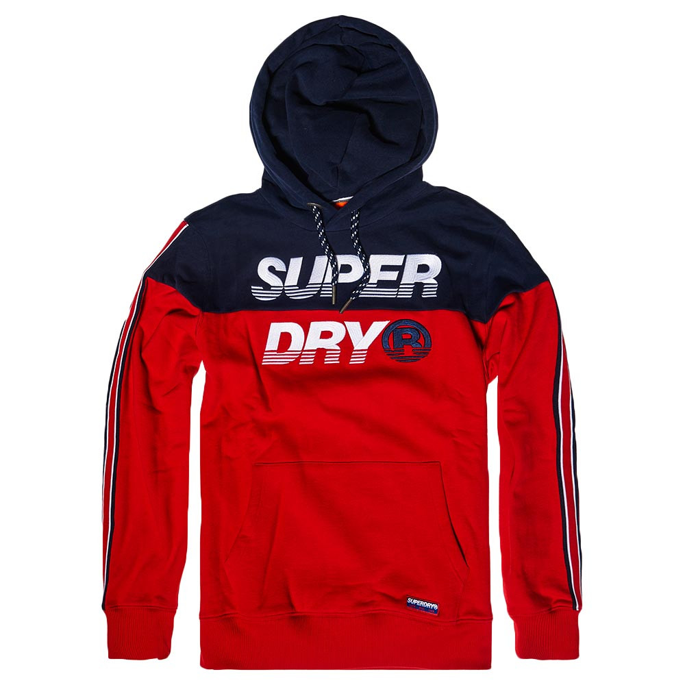 Superdry Universal Tape Hood Sweat-Shirt /À Capuche Homme
