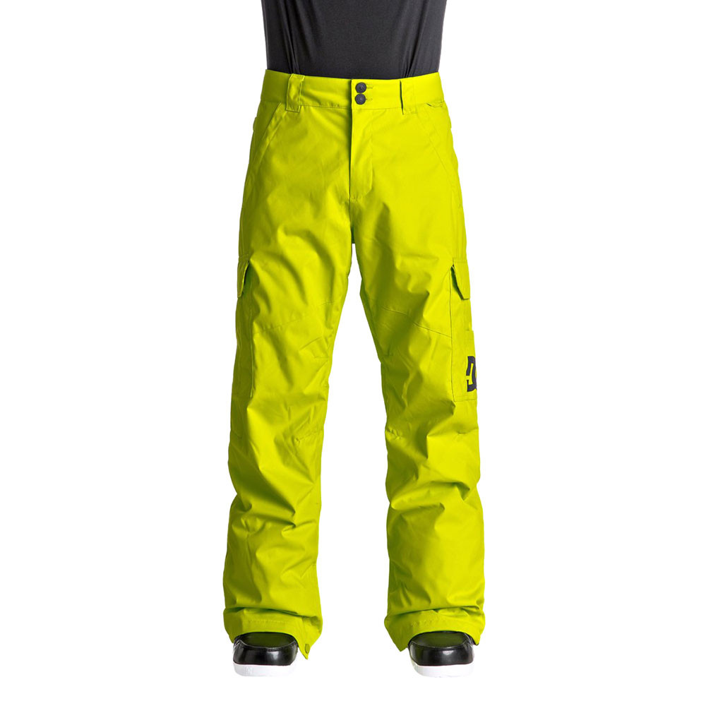 be9b9f0e306e Banshee Pantalon Ski Homme DC SHOES JAUNE pas cher - Pantalons ski ...