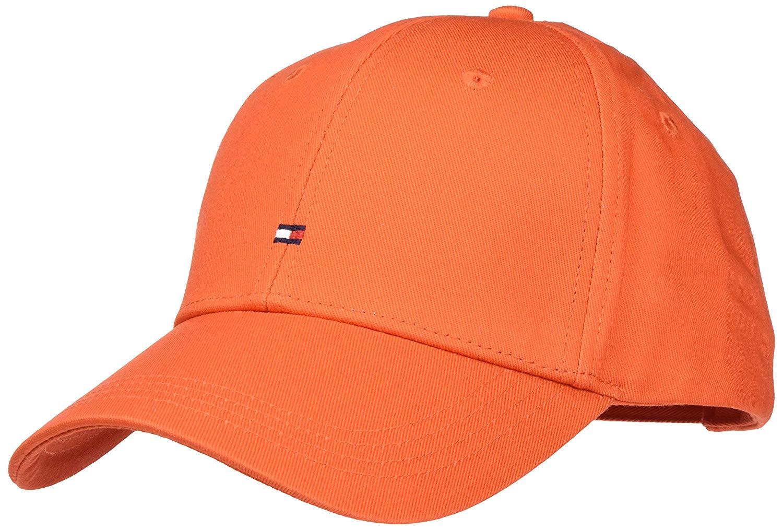 casquette homme orange