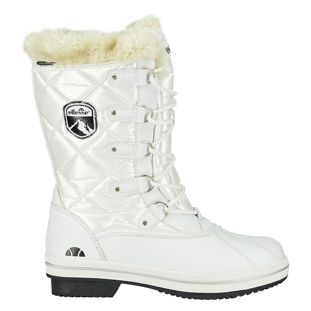 Bottes Neige Blanc Ellesse High Cher Femme Calgary De Pas ON08nwvm