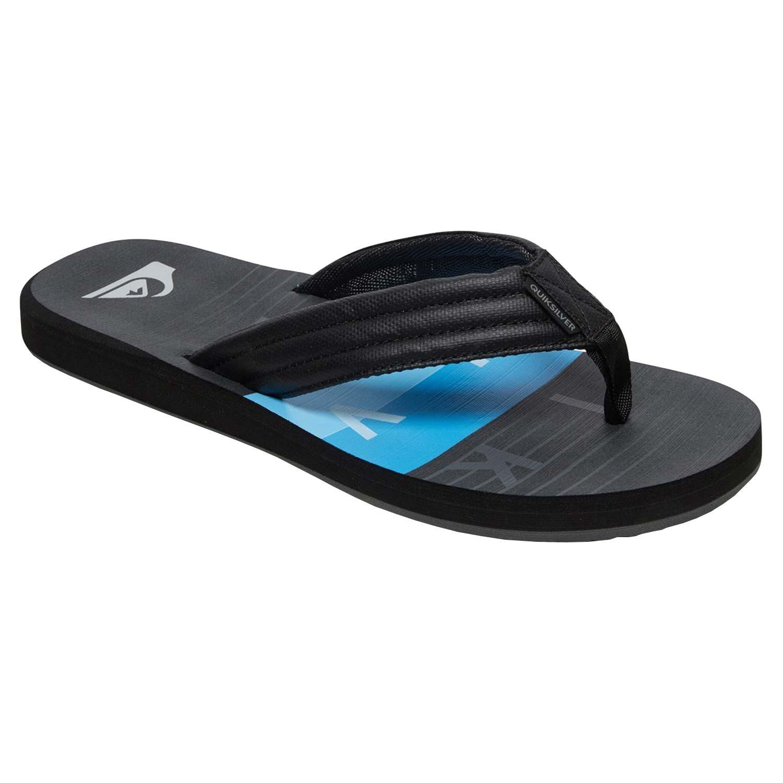 Quiksilver Crystal Oasis Chaussures Sandales-Noir Bleu Toutes Les Tailles