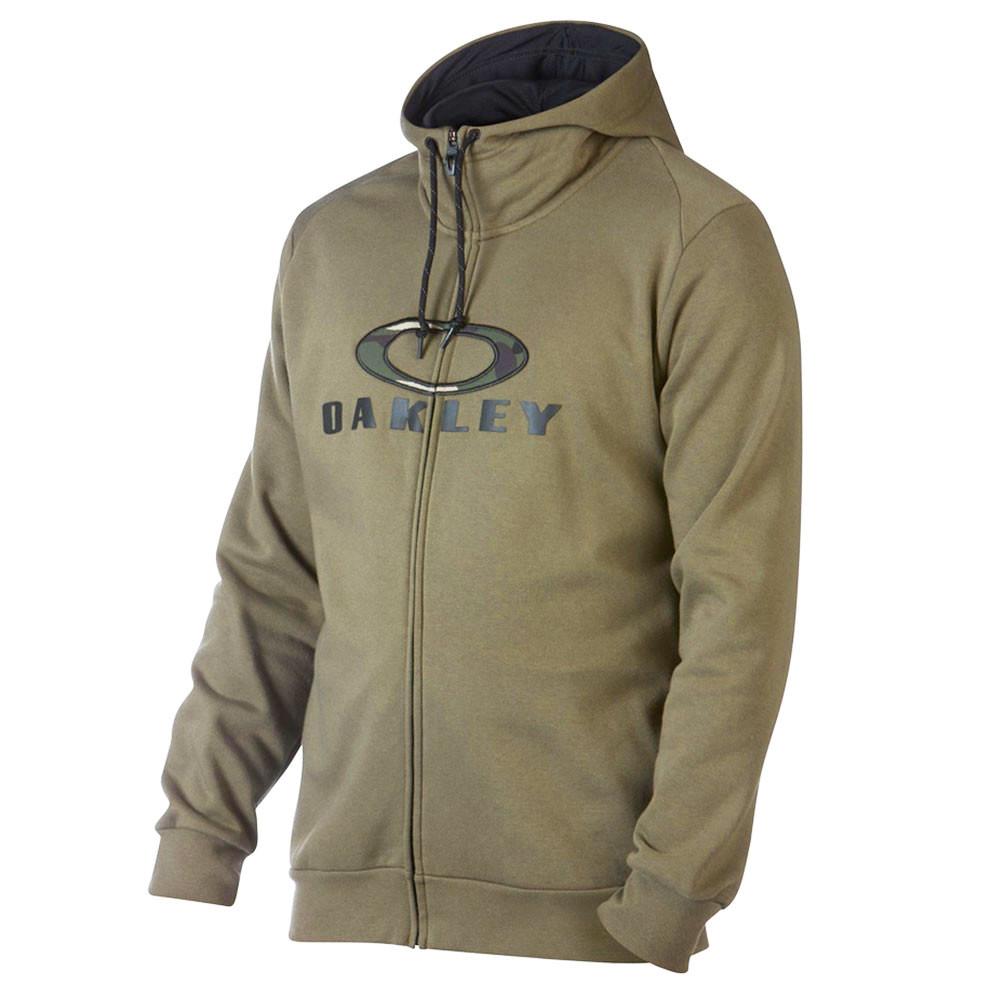 Combat Sweat Zip Homme OAKLEY VERT pas cher - OAKLEY discount fb2bee60ab27