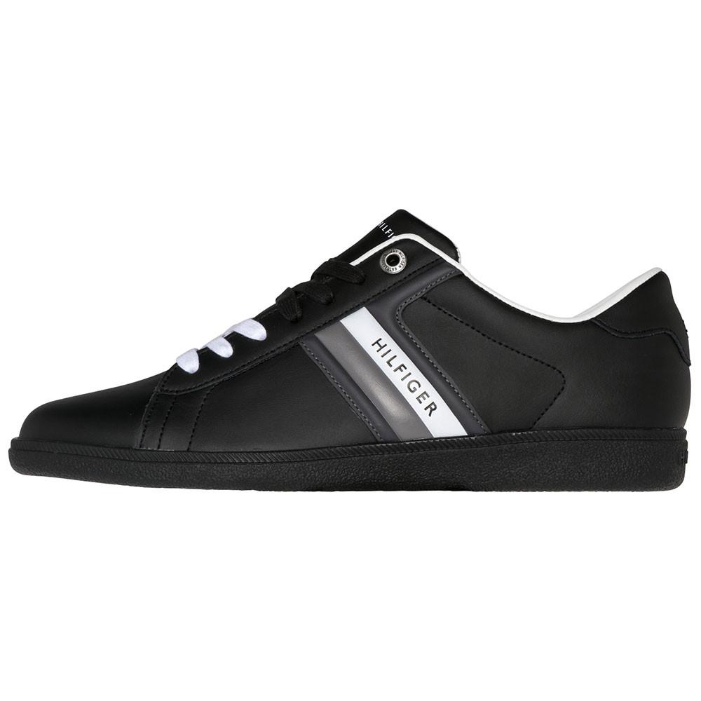 Core Corporate Leath Chaussure Homme TOMMY HILFIGER NOIR pas