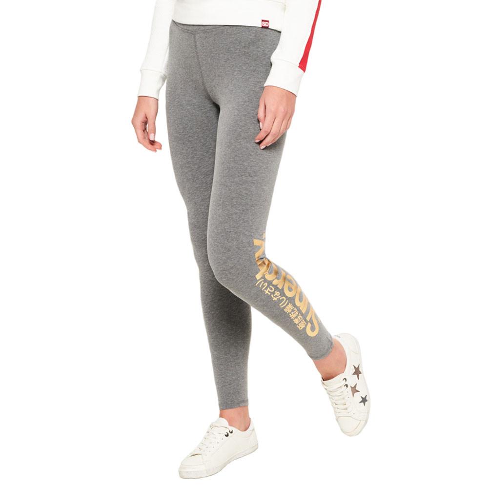 Core Foil Logo Legging Femme