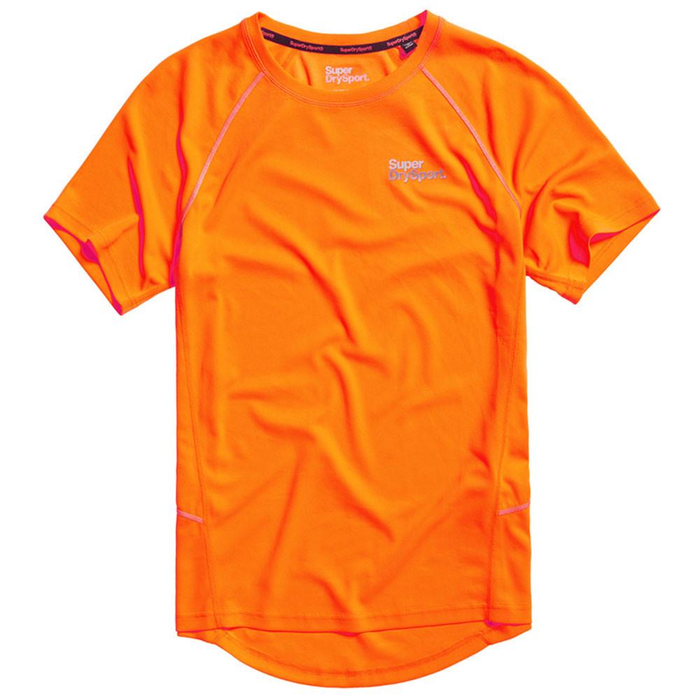 Core Train Wick Mesh Pique T-Shirt Mc Homme