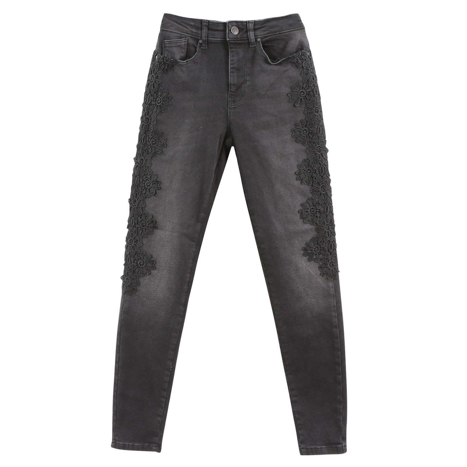 Corin Mid Sk And Lace Jeans Femme