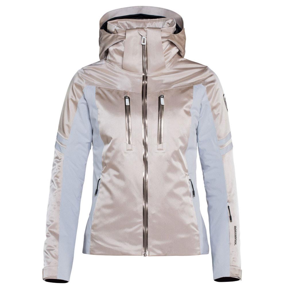 11683a460a80 Course Basalt Blouson Ski Femme ROSSIGNOL BEIGE pas cher - Blousons ...