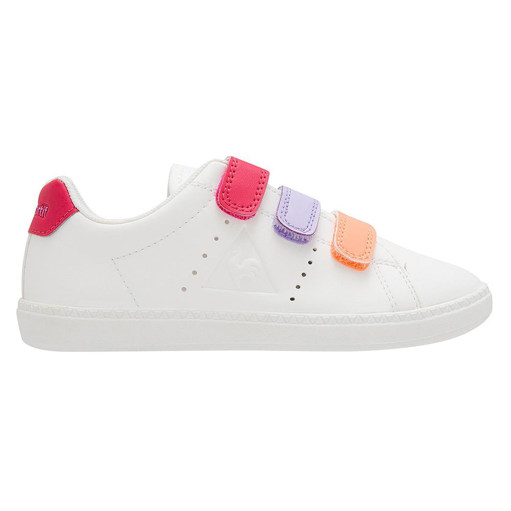 9fd698c55700 Courtone Ps S Lea Chaussure Fille LE COQ SPORTIF BLANC pas cher ...