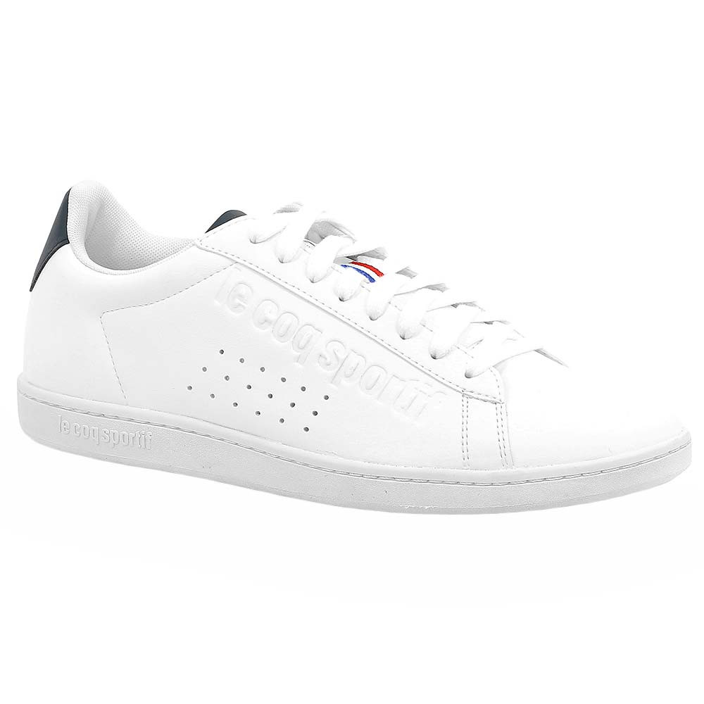 look for really cheap fresh styles Courtset Sport Chaussure Homme LE COQ SPORTIF BLANC pas cher ...