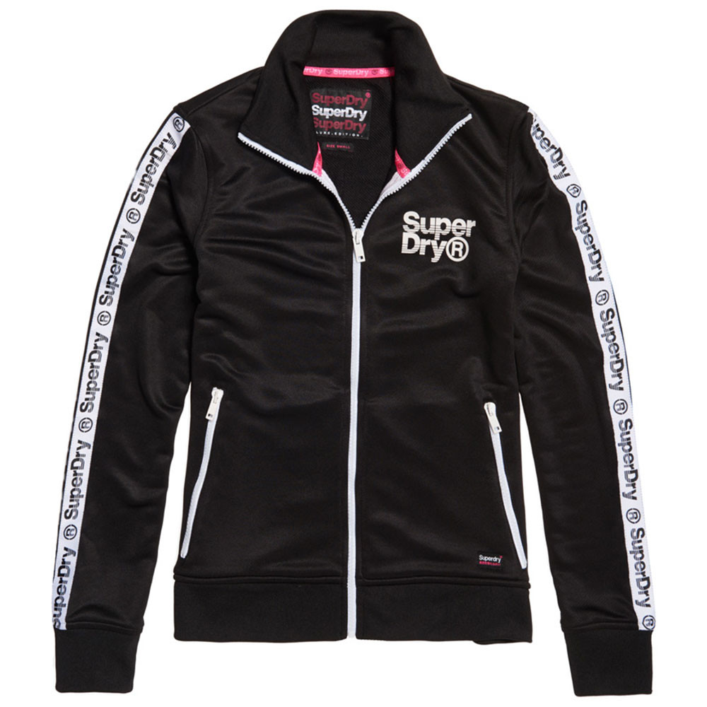 Fashion Fitness Tric Track Top Sweat Zip Femme