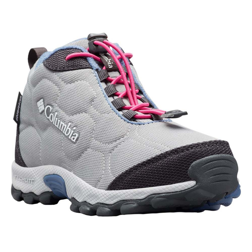 Firecamp Mid Chaussure Fille COLUMBIA GRIS pas cher