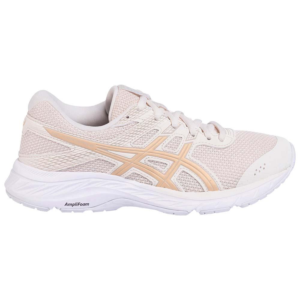 Gel-Contend 6 Chaussure Femme ASICS BEIGE pas cher - Chaussures de ...