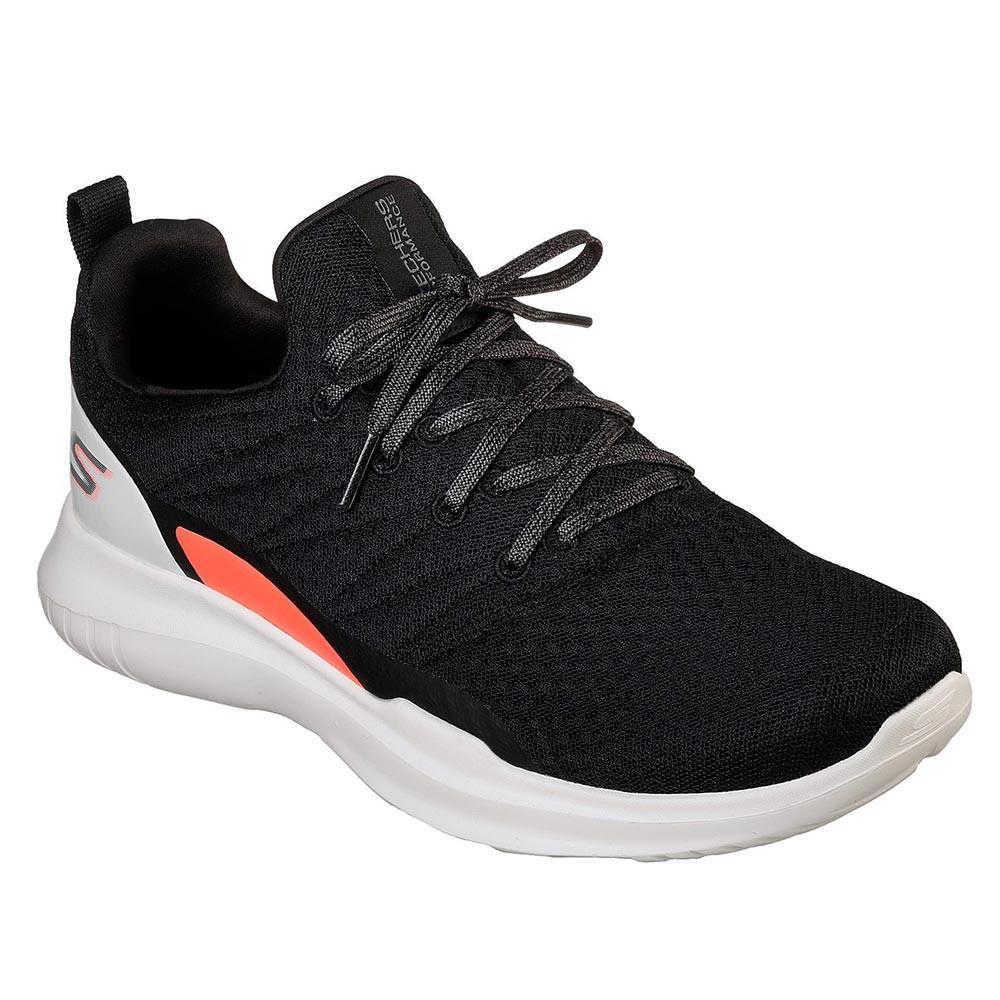 Skechers Femme Go Trail 2 Chaussures De Course Baskets Sneakers Noir Sport