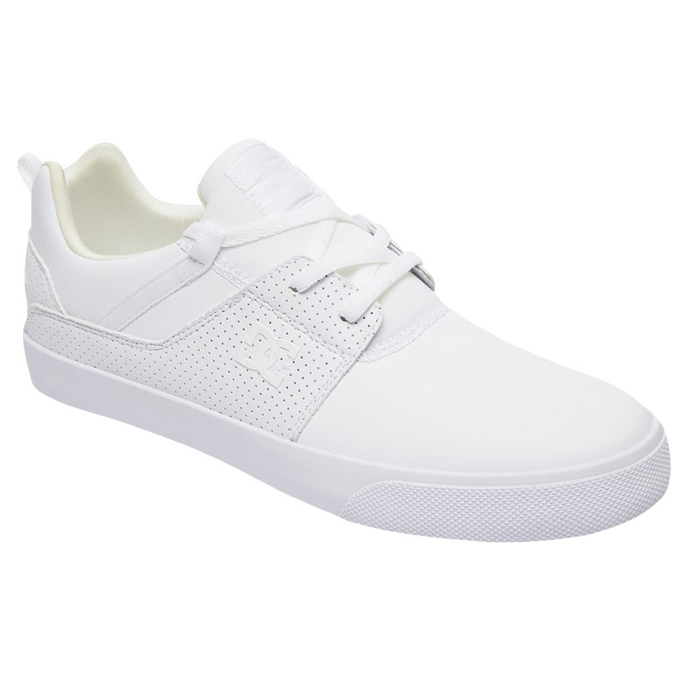 4d018462915 Heathrow Vulc Chaussure Homme DC SHOES BLANC pas cher - Chaussures ...