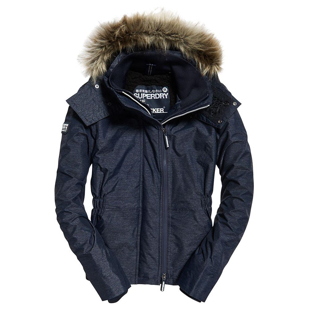Hooded Fur Winter Blouson Femme