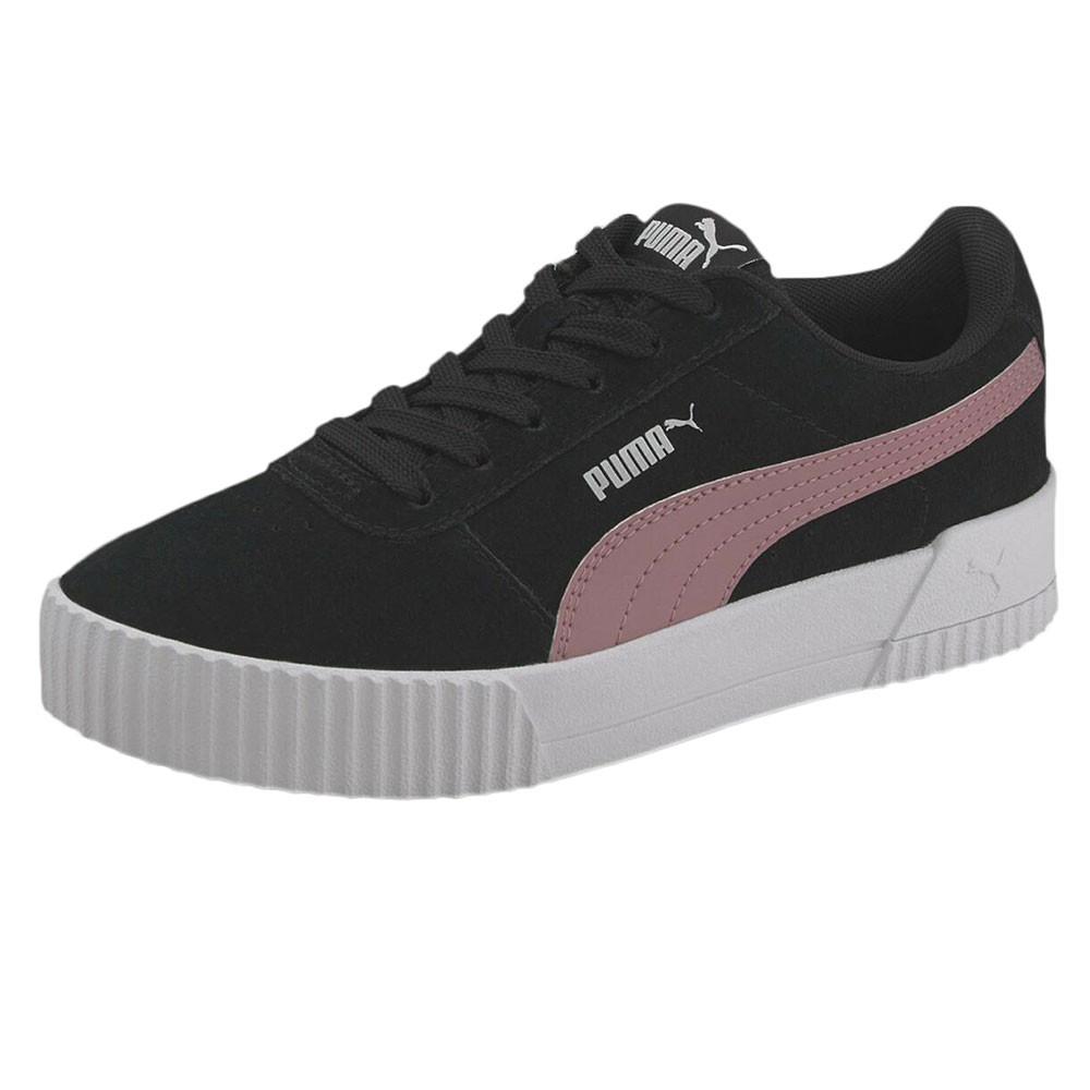 Jr Carina Chaussure Fille PUMA NOIR pas cher - Chaussures ...