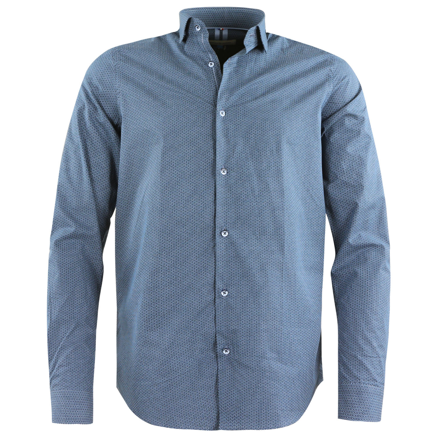 best deals on sale usa online retail prices Love Chemise Ml Homme BENSON AND CHERRY BLEU pas cher ...