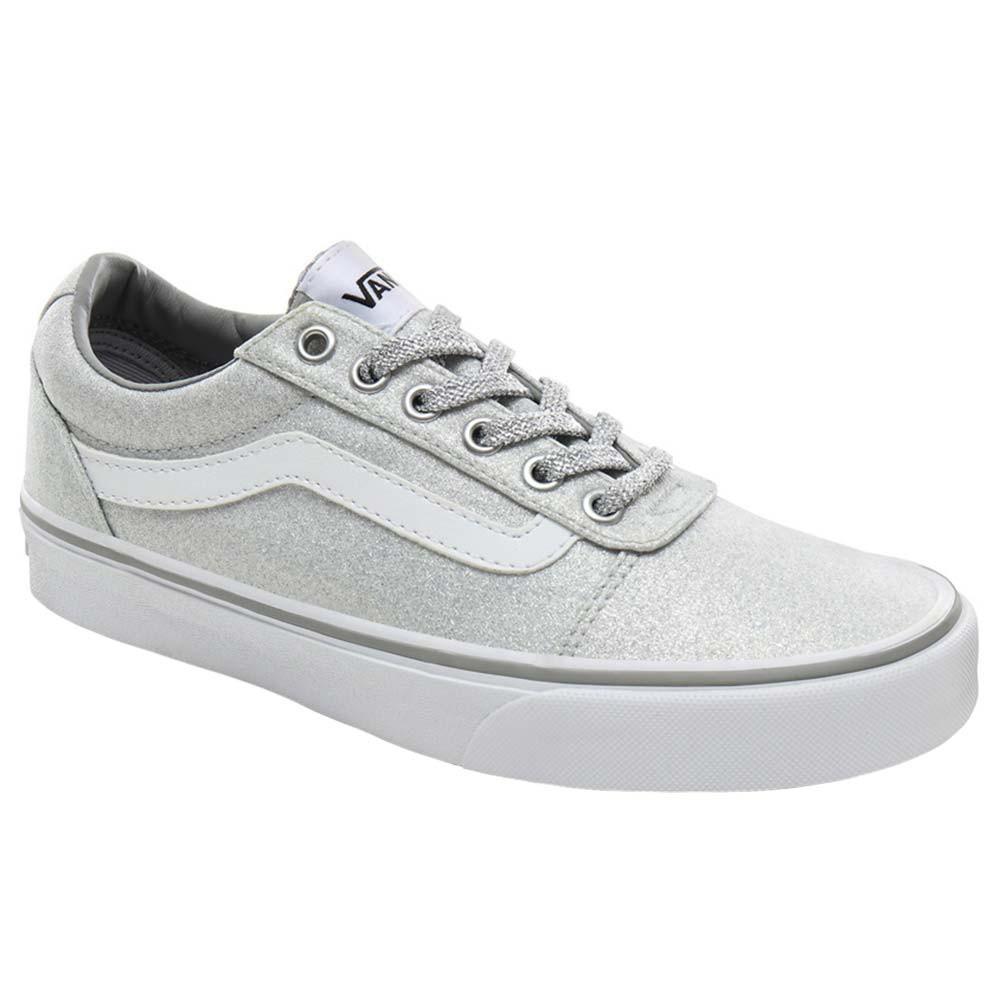 chaussures femme vans grises