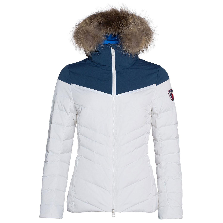 11d4757b52e9 Major Blouson Ski Femme ROSSIGNOL BLANC pas cher - Blousons ski et ...