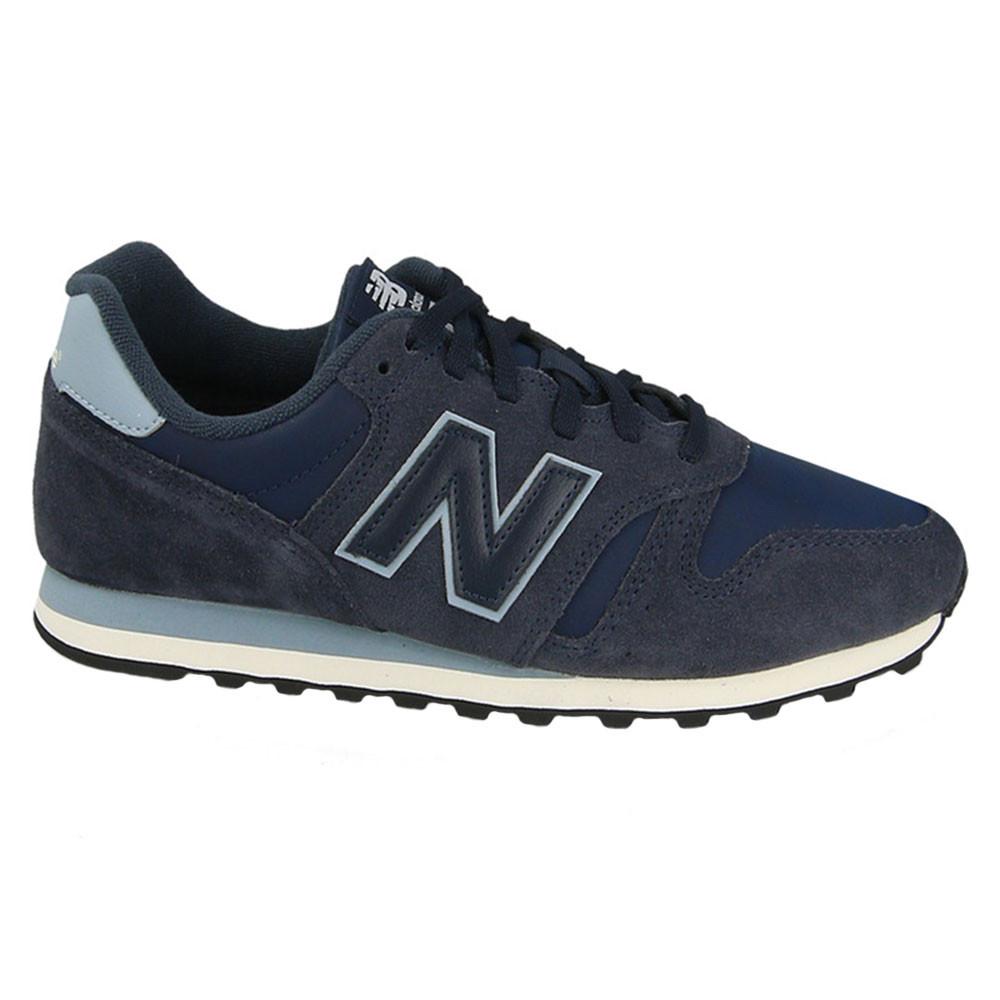 new balance hommes cuir bleu