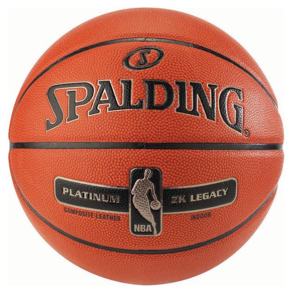 Nba Platinum Legacy Sz.z Ballon Basket SPALDING ORANGE pas