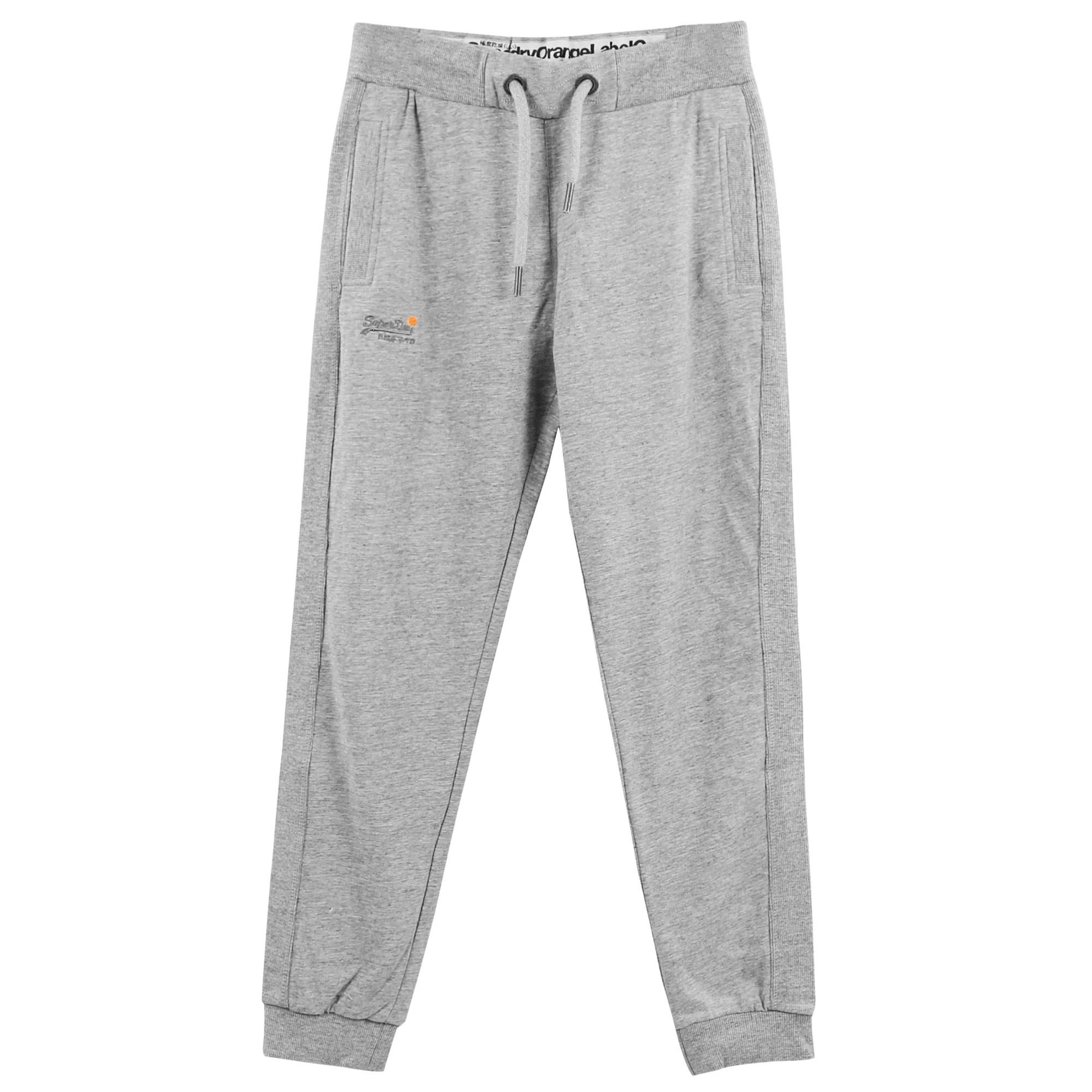 Orange Label Lite Slim Pantalon Jogging Homme SUPERDRY GRIS