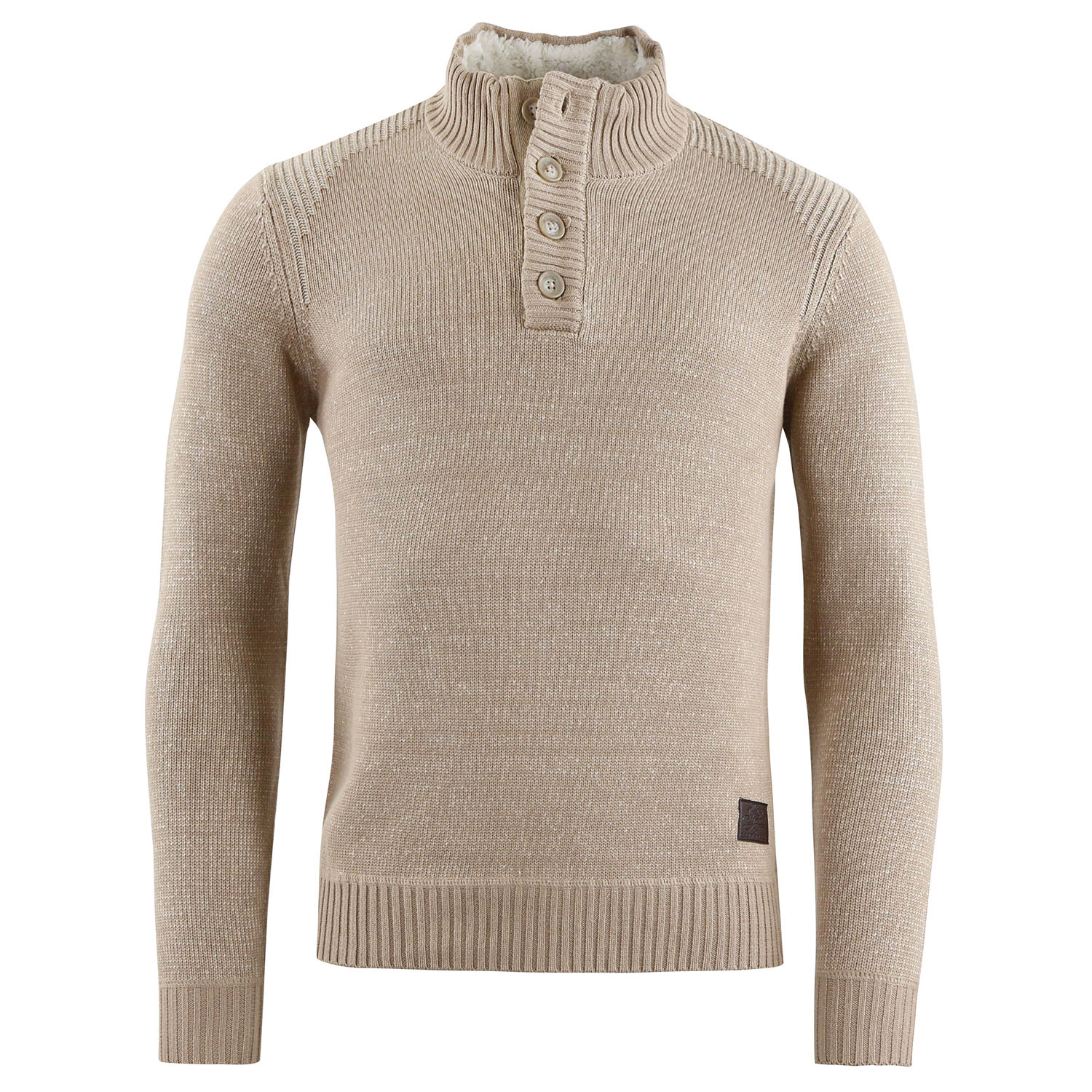 P-Loric Pull Homme TEDDY SMITH BEIGE pas