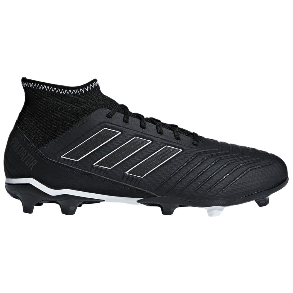 detailed images low priced cozy fresh Predator 18.3 Fg Chaussure Homme ADIDAS NOIR pas cher - Chaussures ...