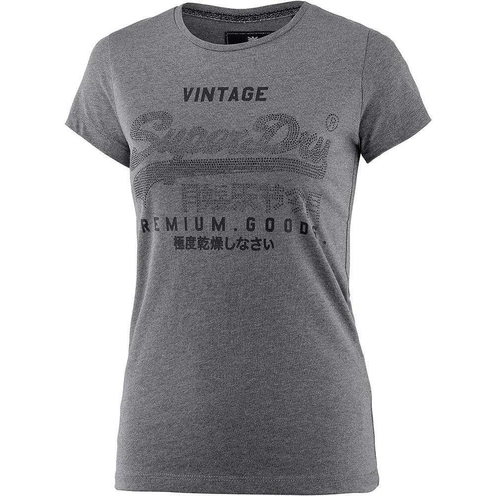Premium Goods R'stne Entry T-Shirt Mc Femme