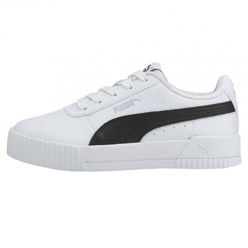 Ps Carina Snake Chaussure Fille PUMA BLANC pas cher - Chaussures ...