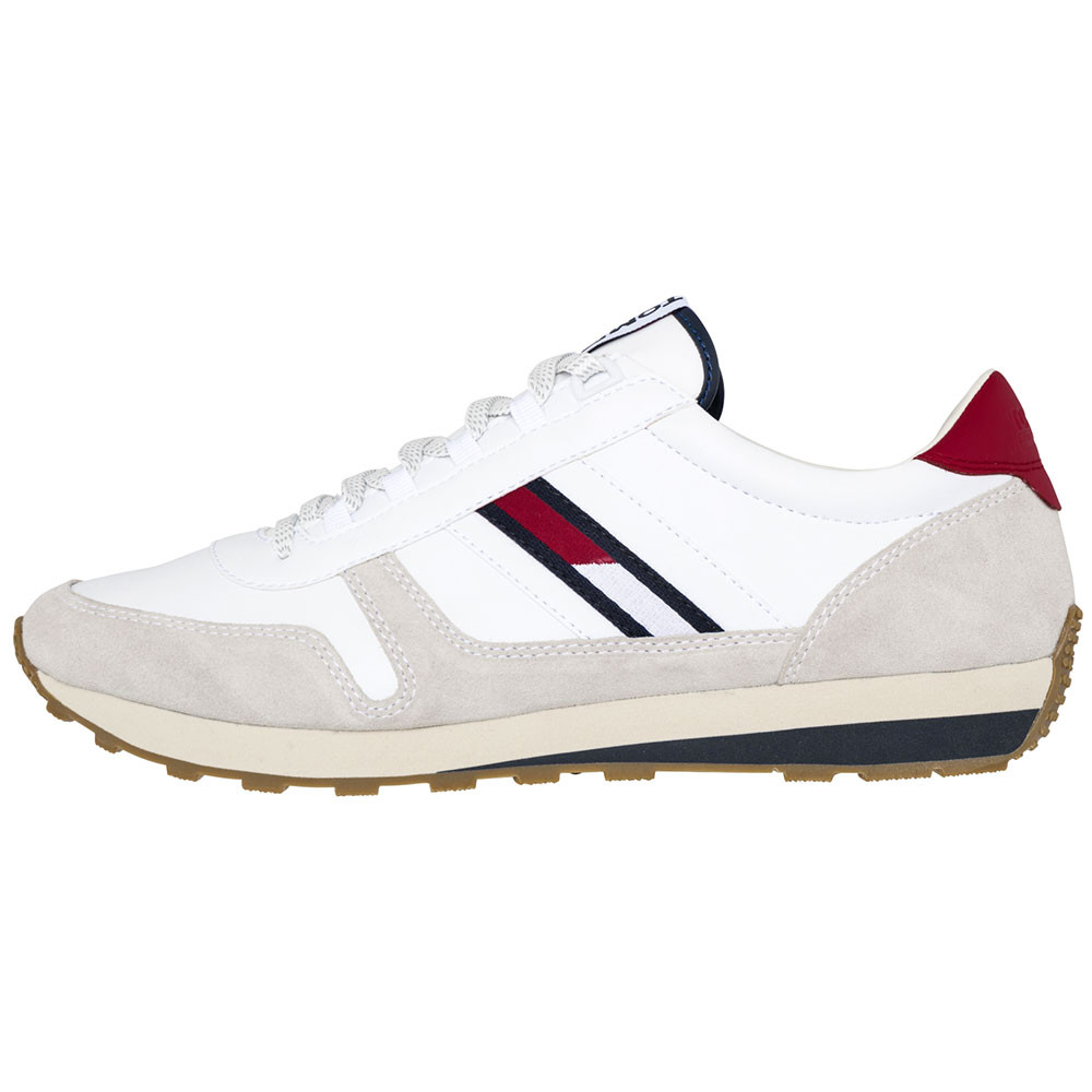 Homme Chaussure Retro Runner BLANC HILFIGER Snaker TOMMY cher pas ZqqfRtwCp fca75058ae80