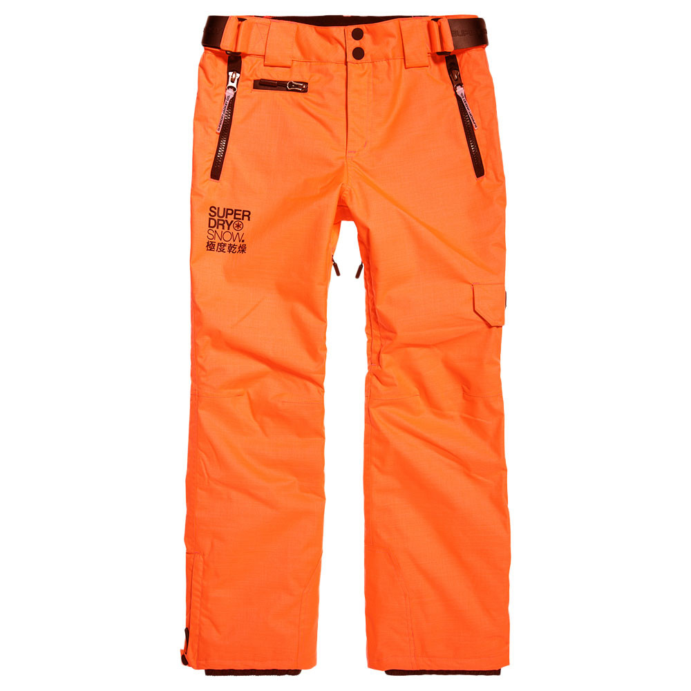 969f25bca45e Snow Pant Pantalon De Ski Homme SUPERDRY ORANGE pas cher - Pantalons ...