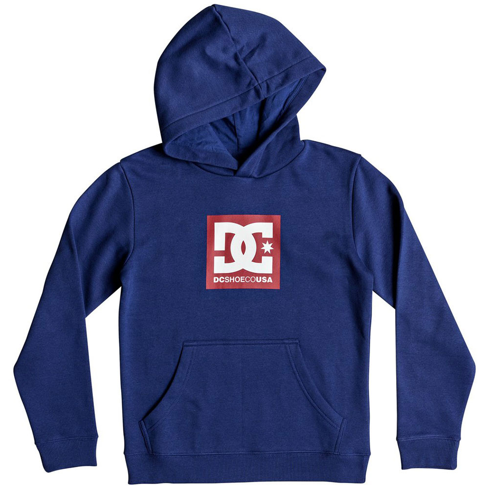 Square Star Sweat Cap Garçon DC SHOES BLEU pas cher Sweats