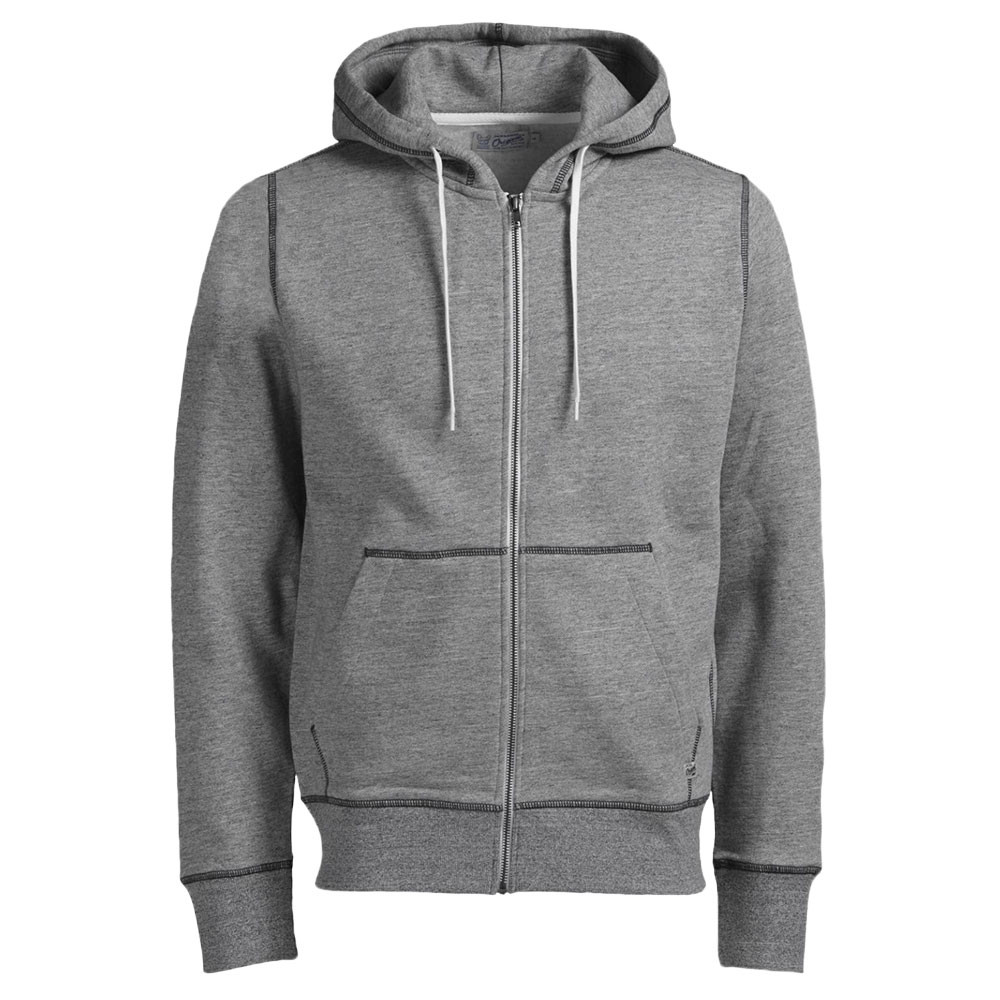 Jones And Homme Capuche Pas Cher Sweats Zip Sweat Jack Storm Gris CYqgwn