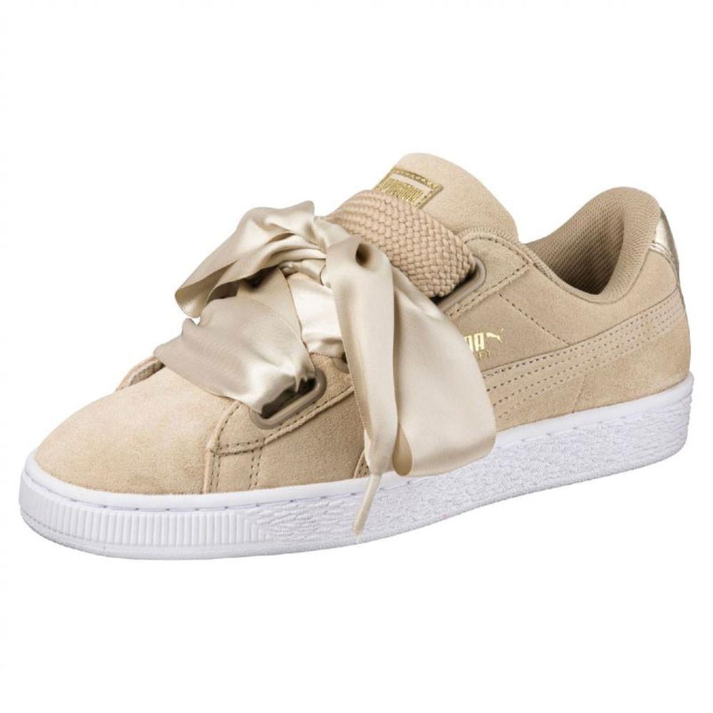 chaussure femme puma gris