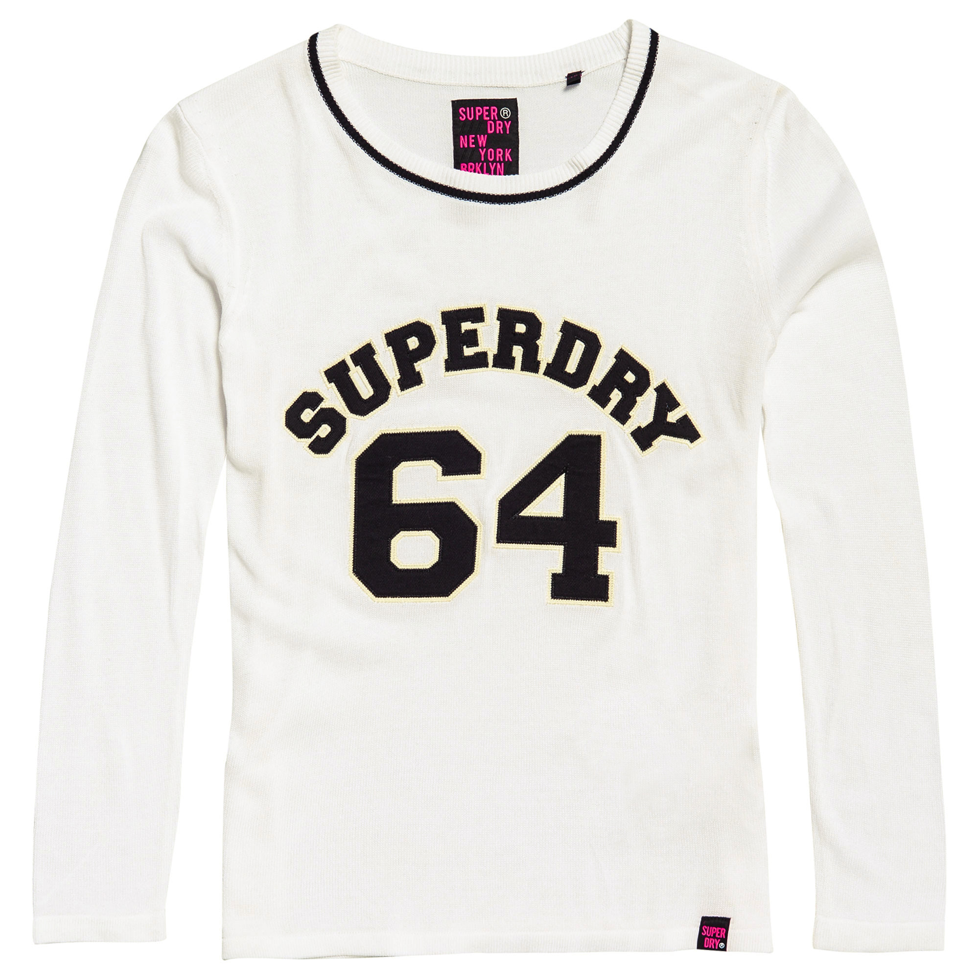 Superdry 64 Pull Femme SUPERDRY BLANC pas