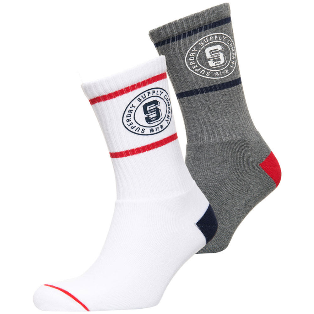 Superdry Varsity Pack 2 Chaussettes Homme