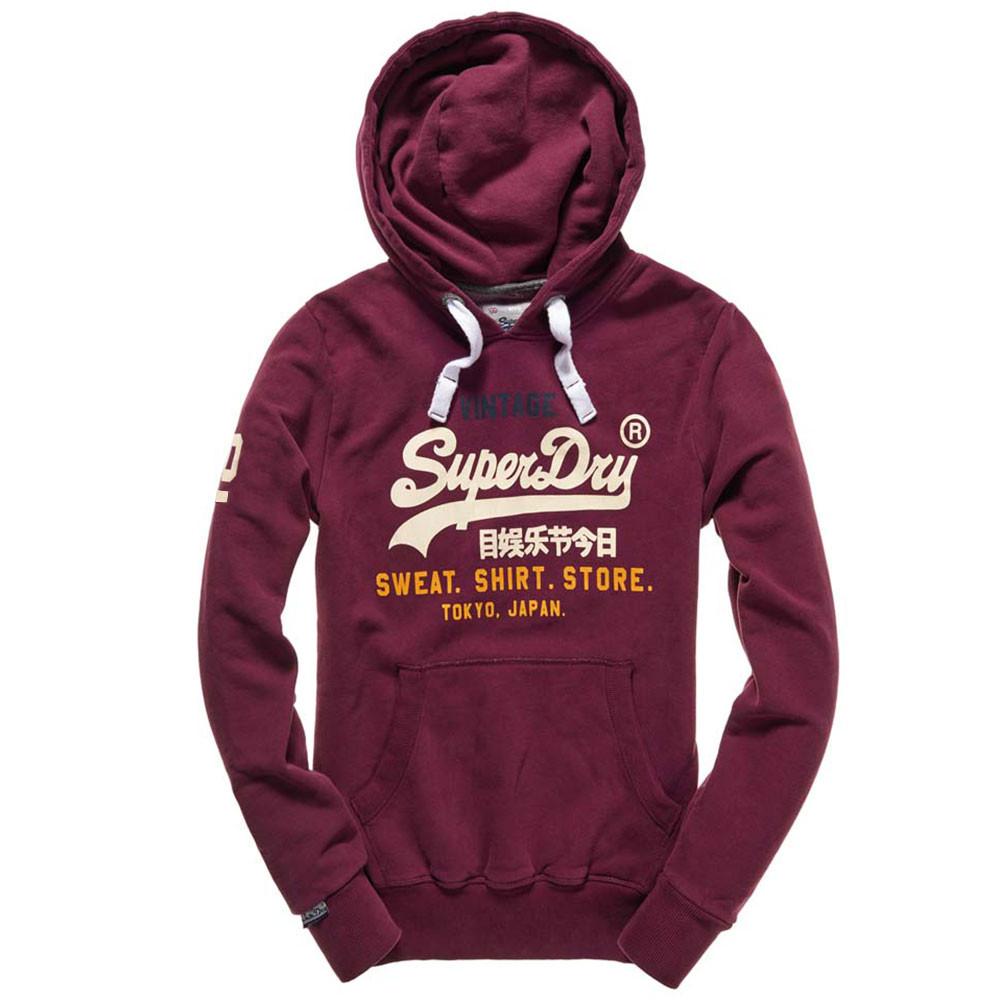 283f0b2b62a0d Sweat Shirt Store Tri Sweat Cap Homme SUPERDRY BORDEAUX pas cher ...