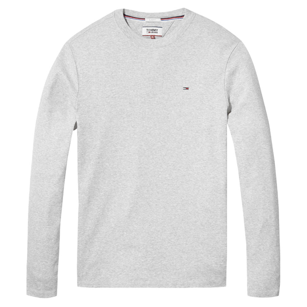 Tommy Jeans Homme Original Rib T-Shirt Manches Longues