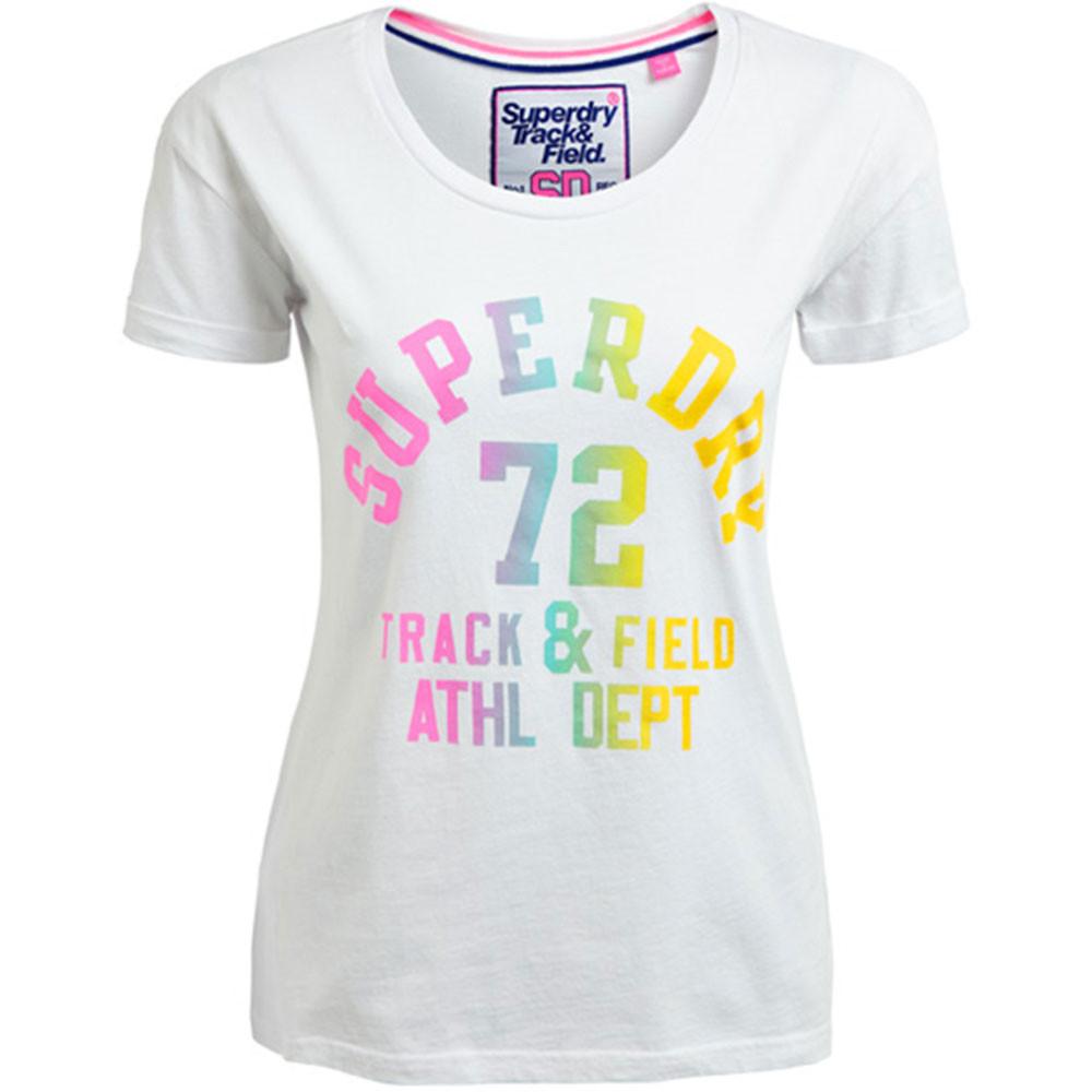 Trackster Slim Bf T-Shirt Mc Femme
