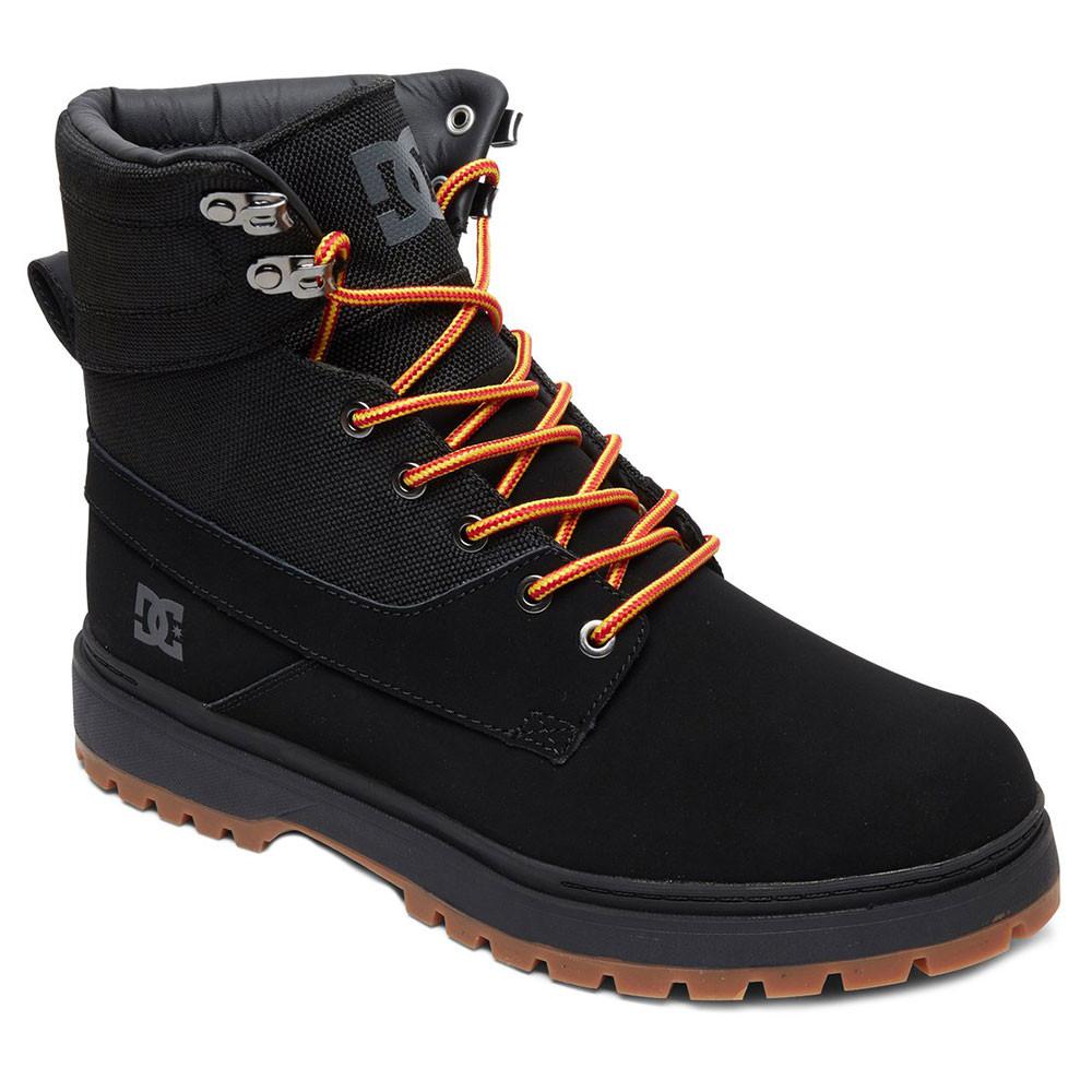 Chaussures DC Homme Bottine NOIR Uncas pas SHOES de cher RLA54j