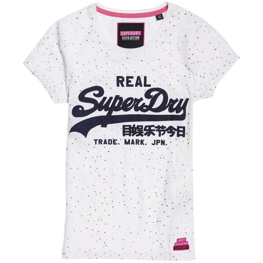 Vintage Logo Star Aop Entry T-Shirt Mc Femme