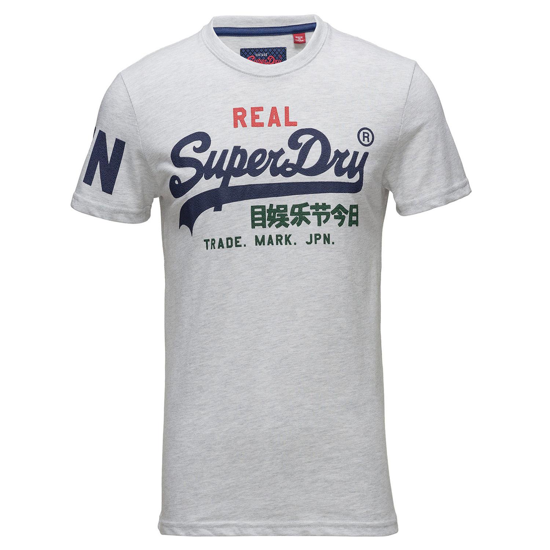 5529703d030a Cher Blanc T Superdry Homme Shirt Pas Tri Logo Mc Vintage Wvnqwz0Hq