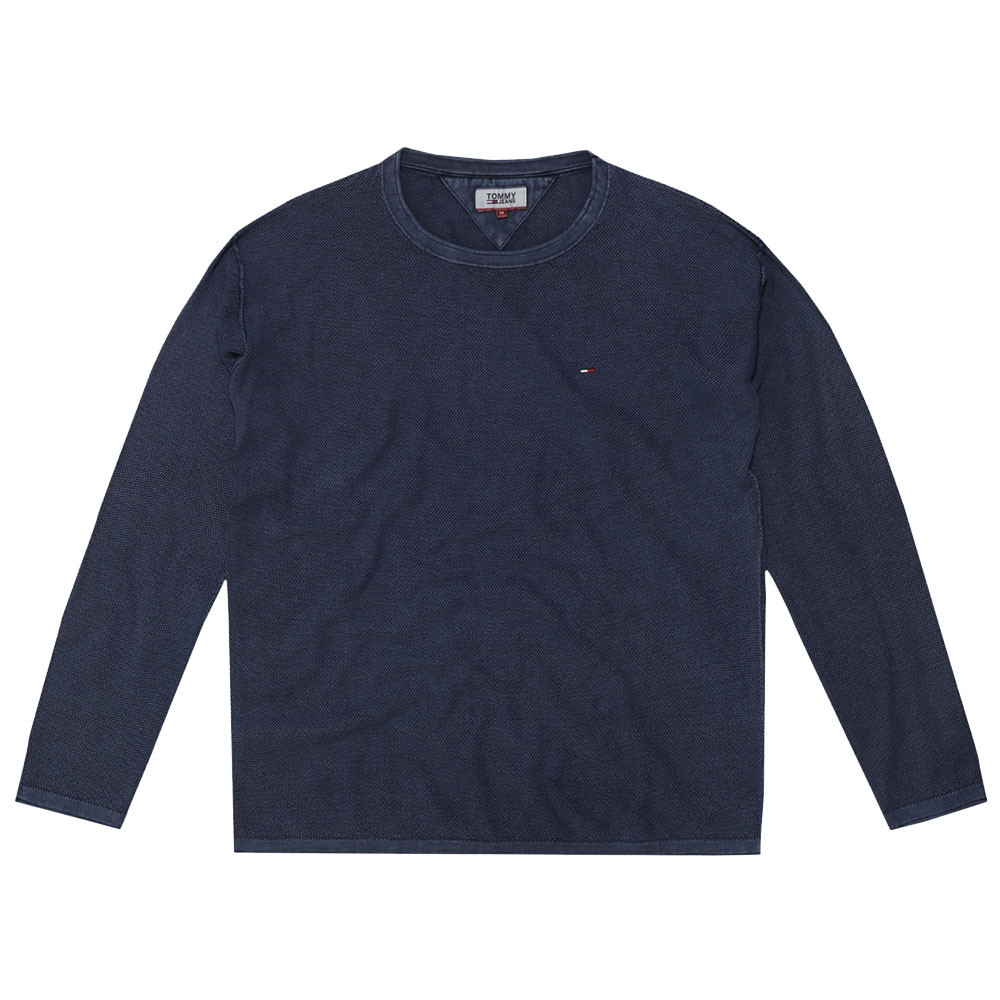 Waffle Sweater Pull Homme