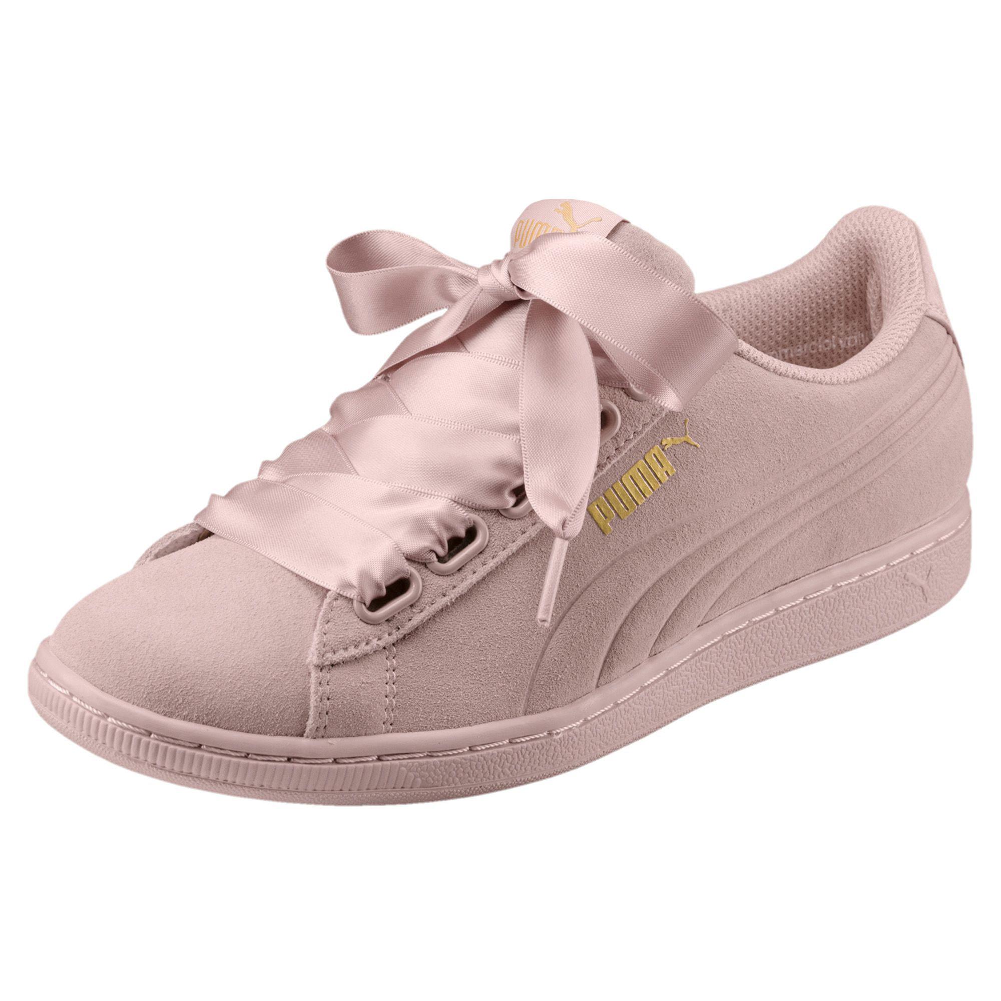 basket puma rose femme