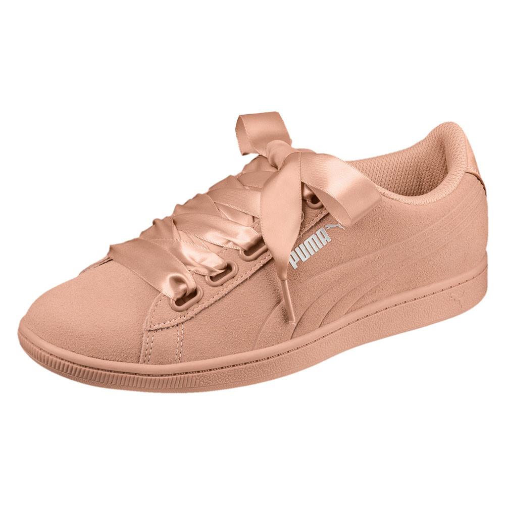 Sd Puma Wns Orange Ribbon Cher Femme Baskets Vikky Chaussure Pas pMGUzVqS