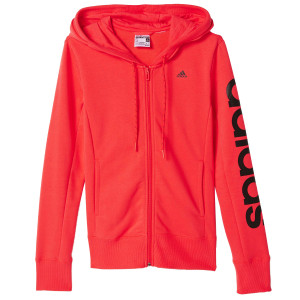 Ess Linear Hd Sweat Zip Femme
